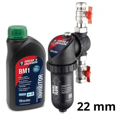 Filtr BoilerMag 22mm + Inhibitor
