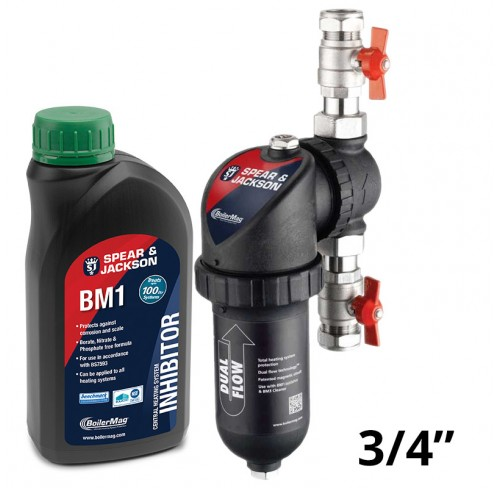 """Filtr BoilerMag 3/4"""" + Inhibitor"""