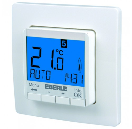EBERLE FIT 3U - uniwersalny termostat podtynkowy